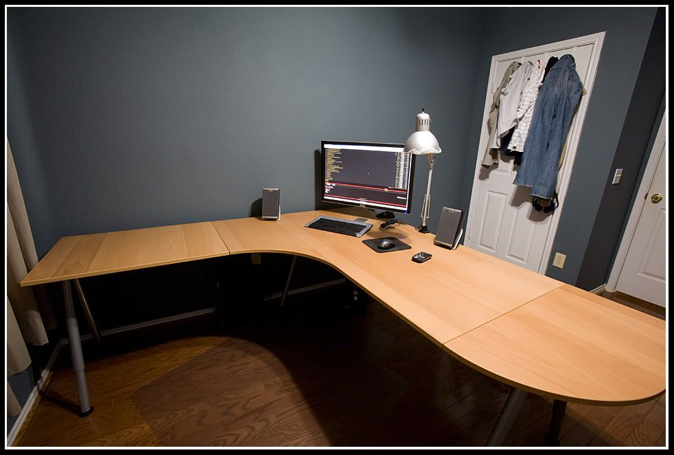 Help Decide A New Office Desk H Ard Forum Corner Desk Diy Corner Desk Ikea Home Office