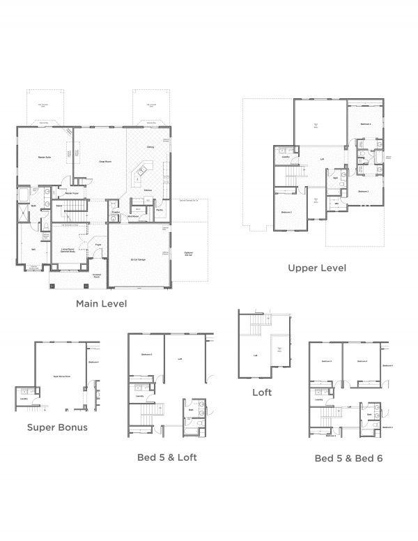 Mountain Copenhagen Henry Walker Homes New Homes Floor Plans