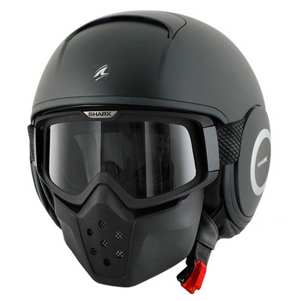 Shark Drak Helmet Blank Mat Black Kma Motorbike Helmet Shark Helmets Motorcycle Helmets