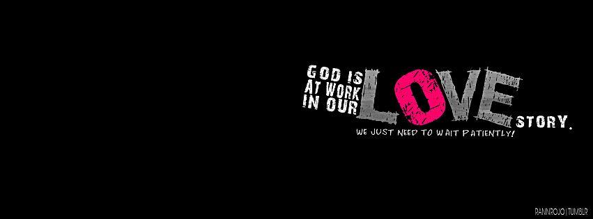 Love waits patiently! ! Corinthians 13:4
