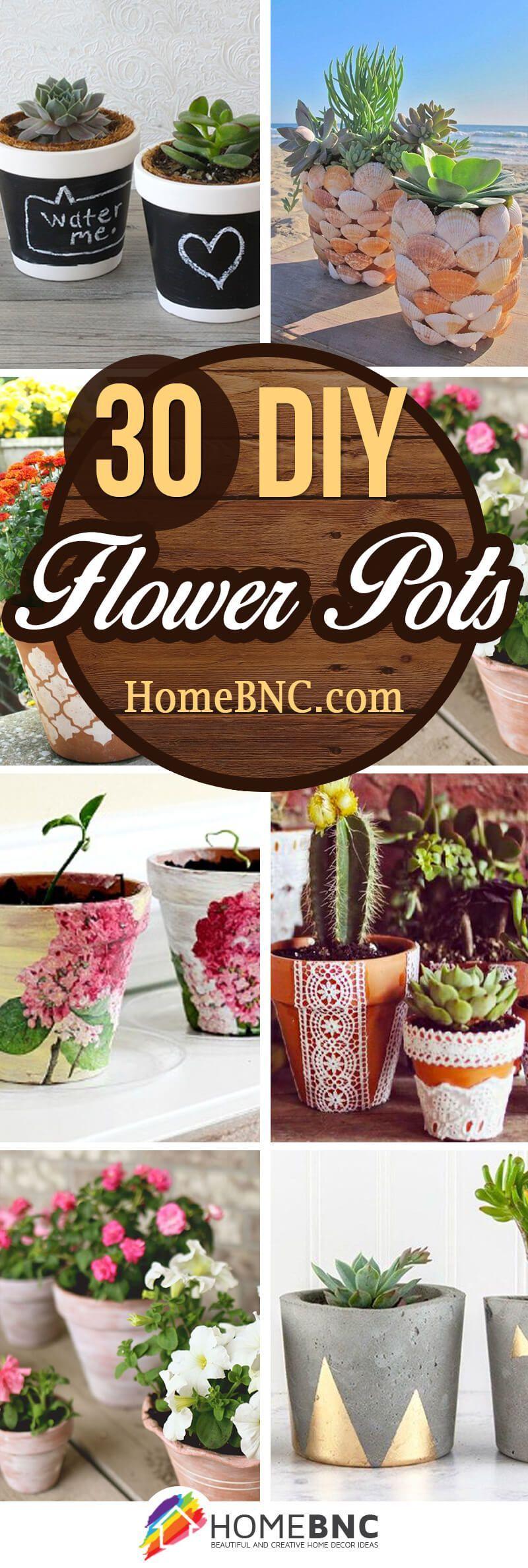 30 fresh as a daisy diy flower pot ideas for stylish