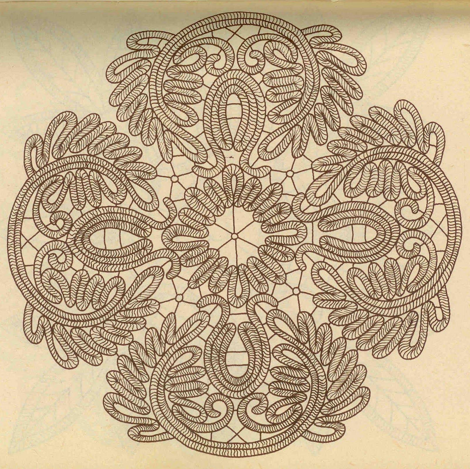 румынское кружево схемы - 10