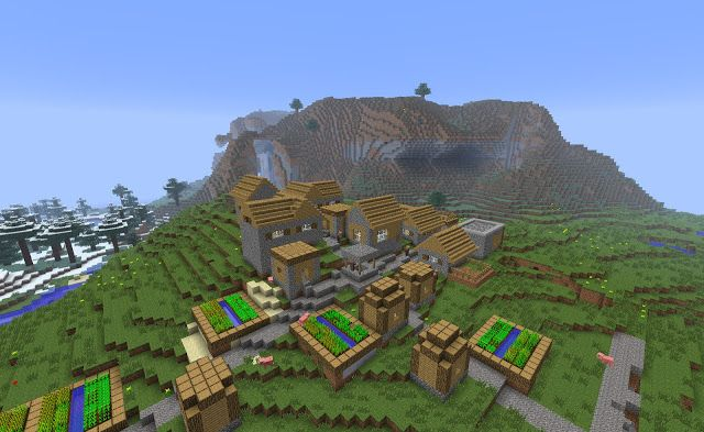 5825474964779901595 | Minecraft Seeds For PC, Xbox, PE, Ps3
