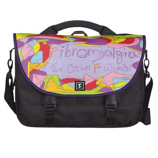 Fibromyalgia: The Other 'F' Word Laptop Messenger Bag
