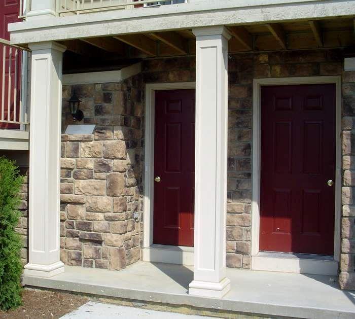 Pictures Square Fiberglass Porch Columns