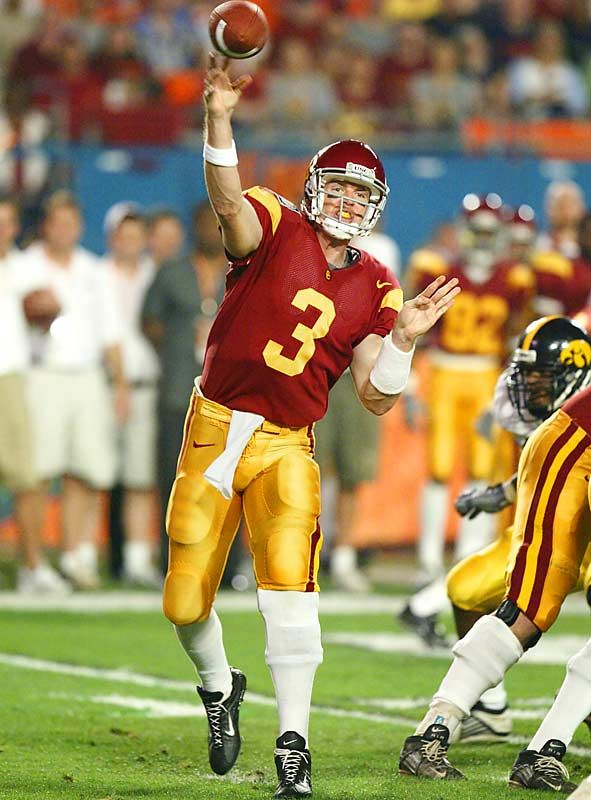 Carson Palmer College Football Trojans Football Usc Trojans Football Usc Football