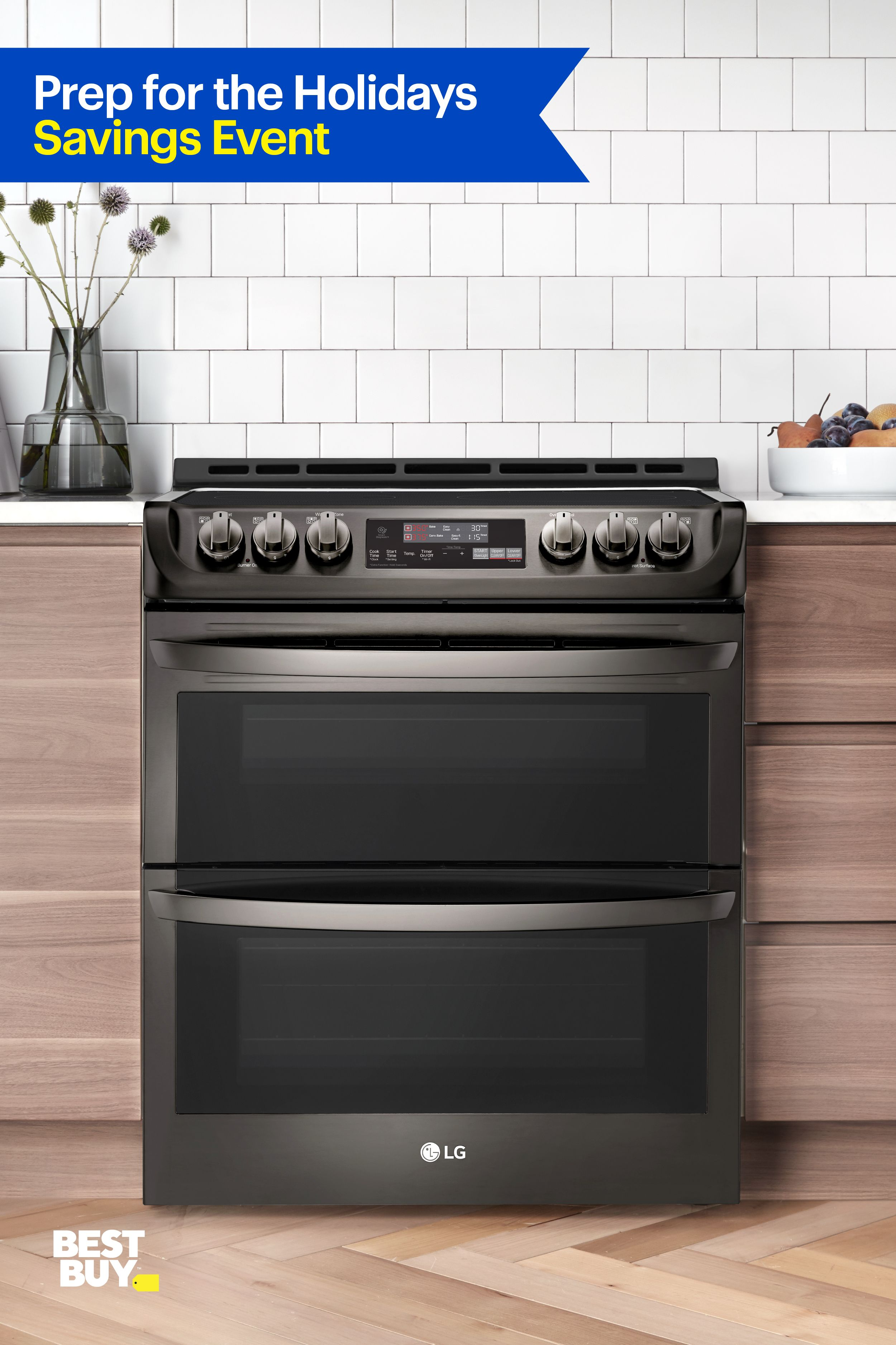 Finish Your Holiday Cooking Faster With This Lg Probake Convection Double Oven It Bakes At Two Different Temps So Kitchen Ideals Kitchen Redo Kitchen Remodel