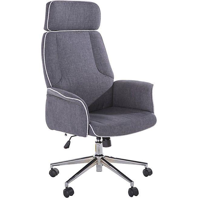 Alinea Sweet Ergonomic Office Chair With Wheels Gray Ergonomic