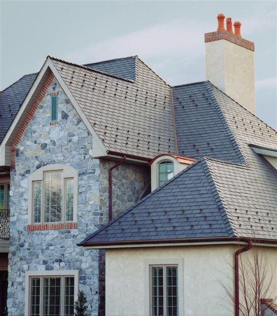 Majestic Slate Synthetic Slate Roofing Tiles With Images Slate Roof Tiles Roofing Rubber Slate Roof