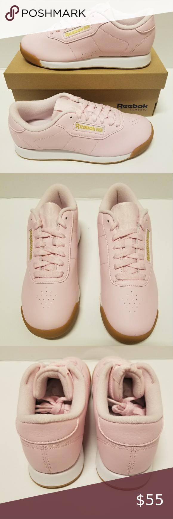pink Reebok Classic Princess Size 6.5