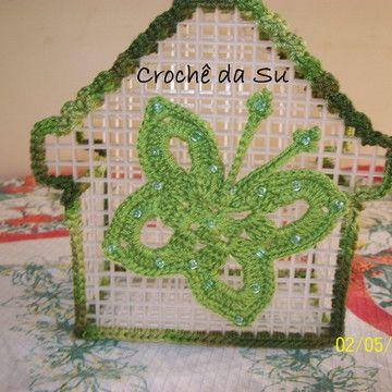 Plastic Coaster in Elo7   Su crochet (312F0F)
