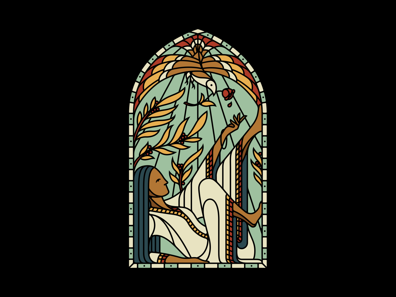 Stained Glass Stained Glass Art Inspiration Easter Graphics