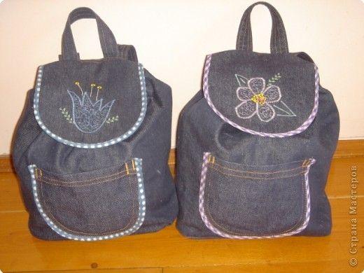 Пошить рюкзак своими руками мастер класс