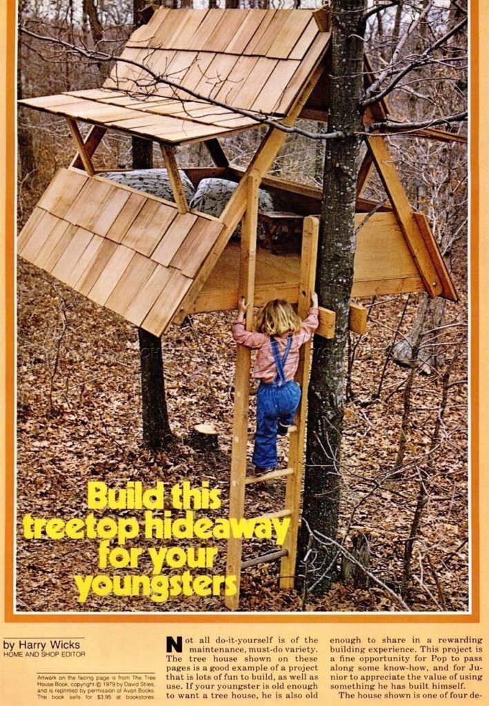 25 Super Treehouse Ideas You Can Build Yourself 2021 Own The Yard