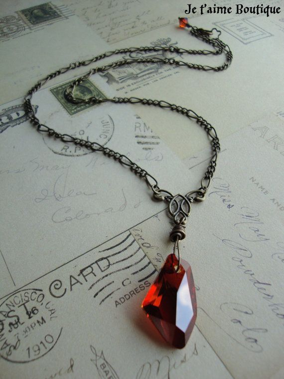 sorcerer's stone necklace