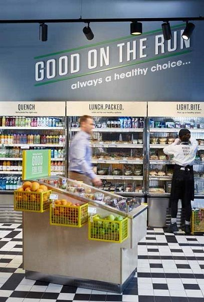Design showcase centra rethinks convenience stores in for Retail store layout software