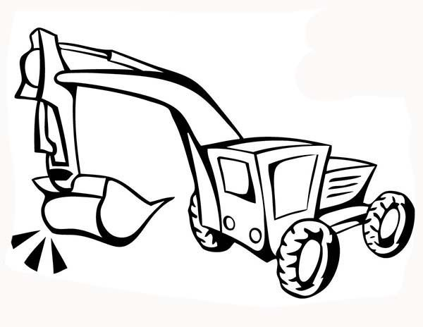 road construction equipment coloring pages - photo#25