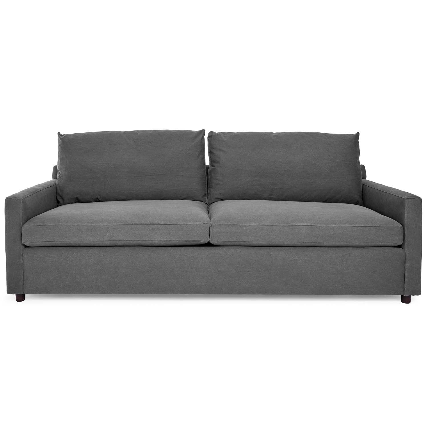 Exclusively At Abc The Lucali Sleeper Is The Intersection Of Contemporary Design And Multipurpose Function Converting From Clean Denim Sofa Sleeper Sofa Sofa