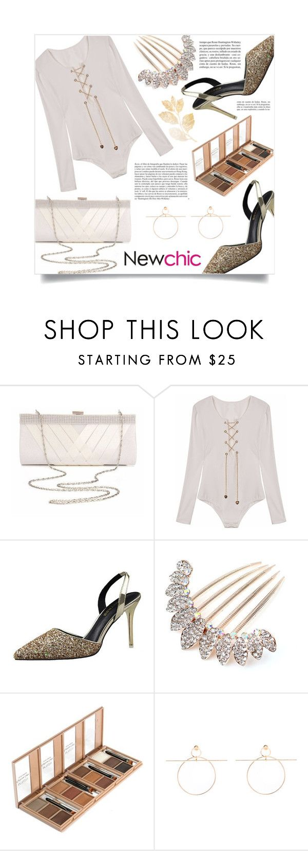 """Newchic"" by enola-pycroft on Polyvore featuring Whiteley"