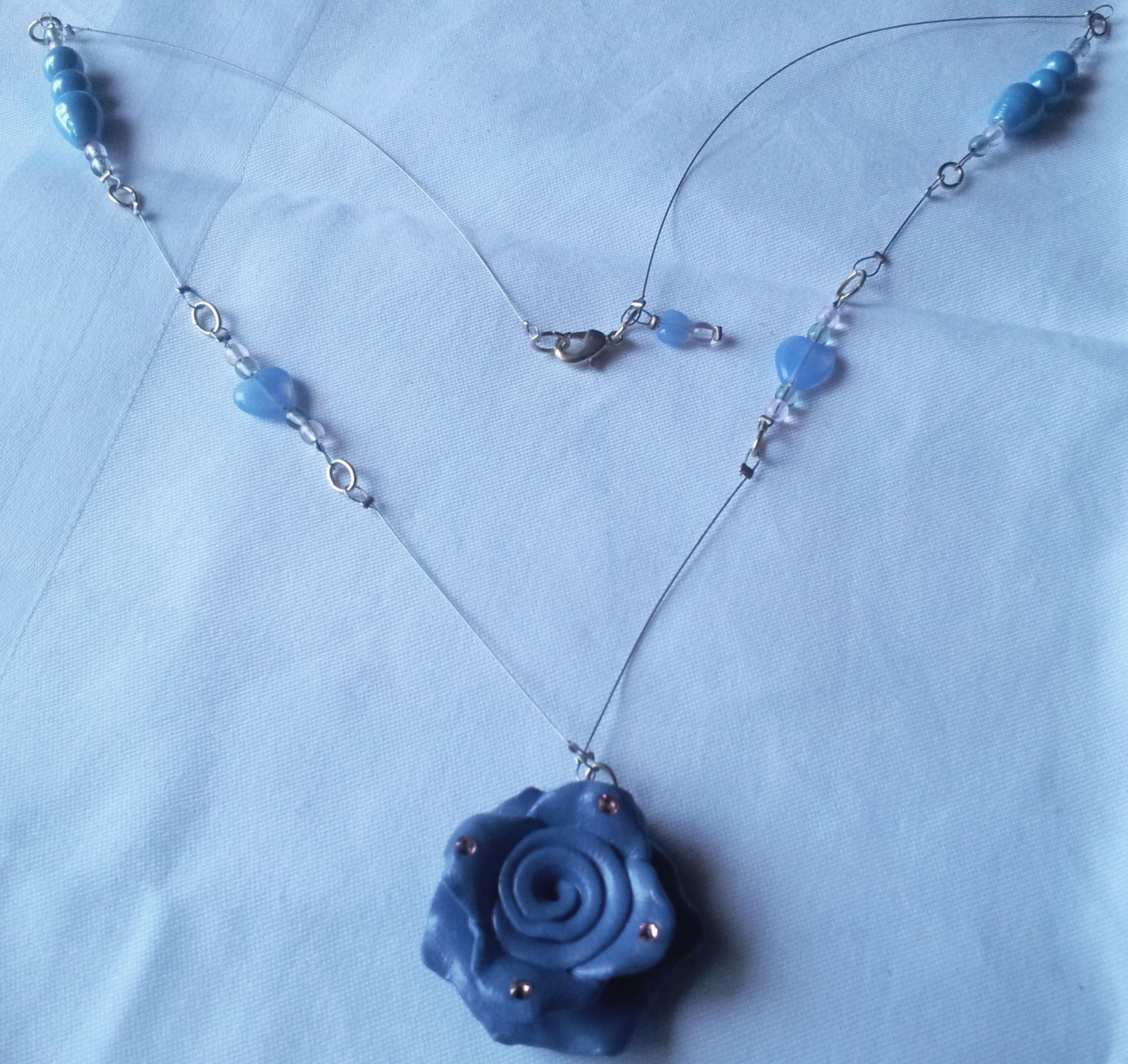 This amazing and stunningly gorgeous necklace is a one of a kind