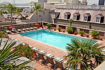 Omni Royal hotel- New Orleans. Very nice - clean , comfortable and great location in the French Q. Comfortable great roof top pool and view.