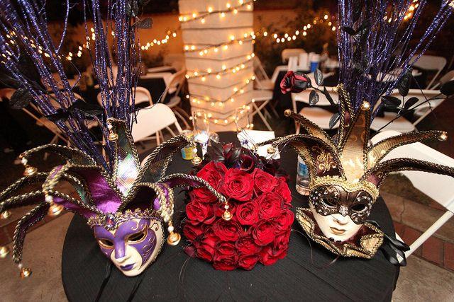Stacy Jeffs Backyard Masquerade Glam Wedding Masquerade Wedding