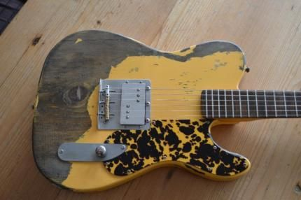 bad rat relic telecaster billy gibbons zz top in baden w rttemberg rottweil. Black Bedroom Furniture Sets. Home Design Ideas