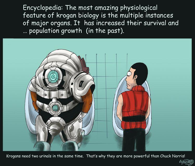 Mass Effect 2 Krogan biology by Agregor.deviantart.com on @deviantART