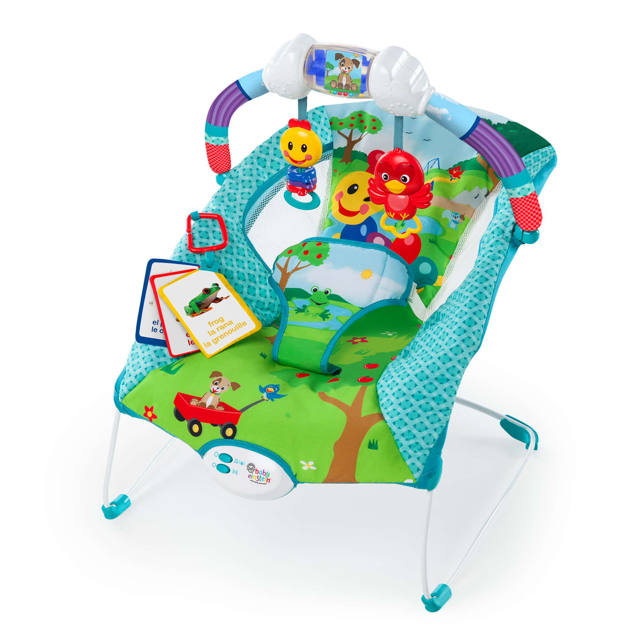 The Caterpillar s Day at the Park Bouncer™ from Baby Einstein