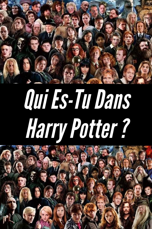 Test Harry Potter 24 Personnages : harry, potter, personnages, Épinglé, Personnalité