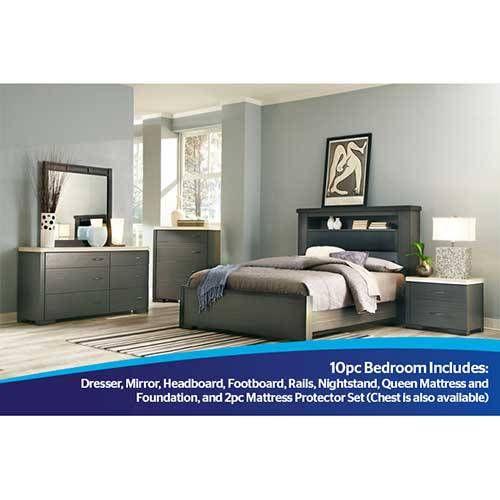 Elegante Schlafzimmer Sets Mit Matratze Motivo Stück