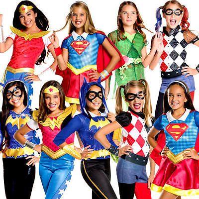 Superhero Boys Fancy Dress Childs Comic Book Characters Kids Childrens Costume