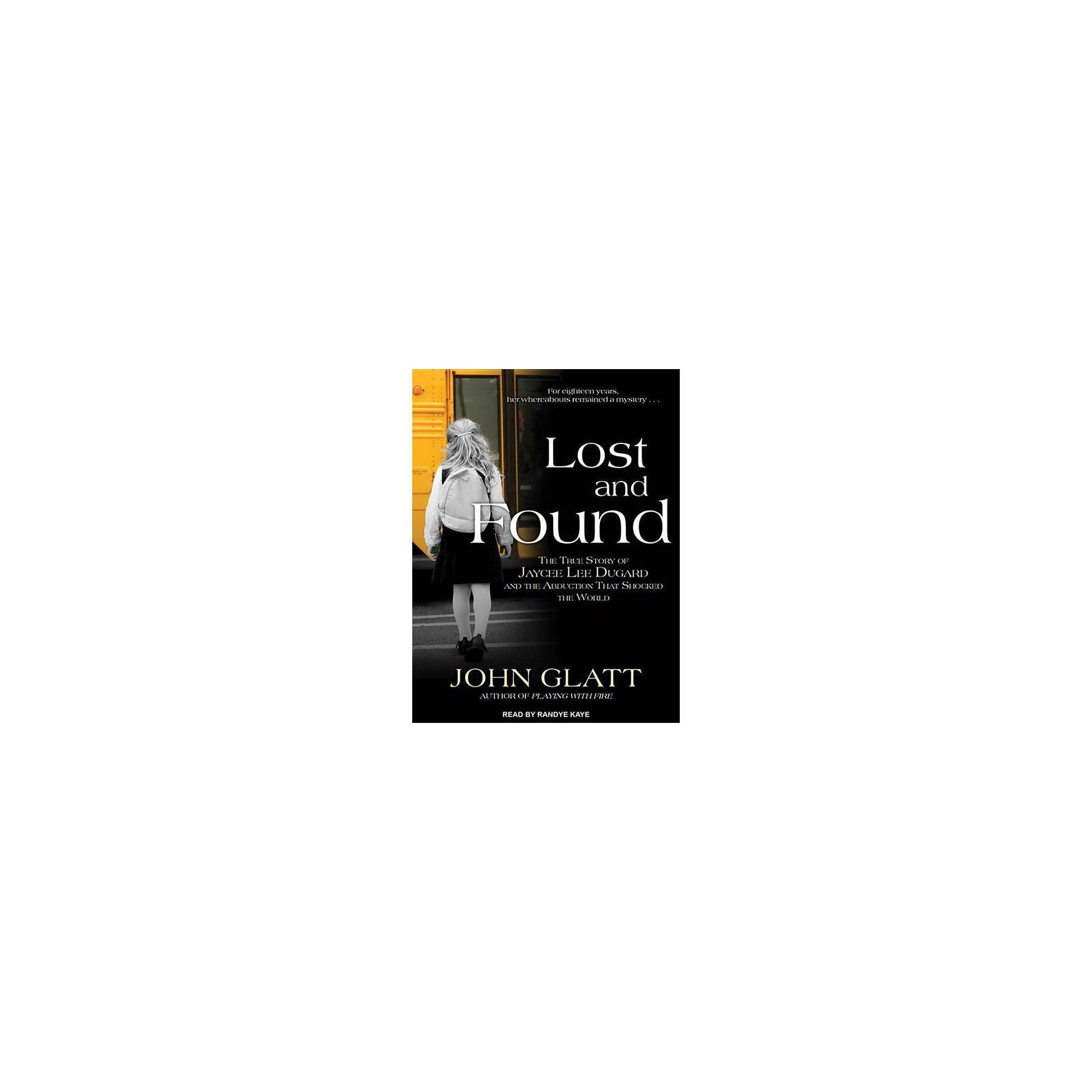 Lost and Found by John Glatt (AudioCD) in 2019 Lost