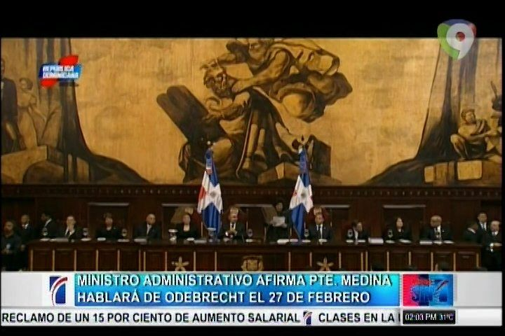 Danilo Medina Hablará Sobre Odebrecht En Discurso 27 De Febrero