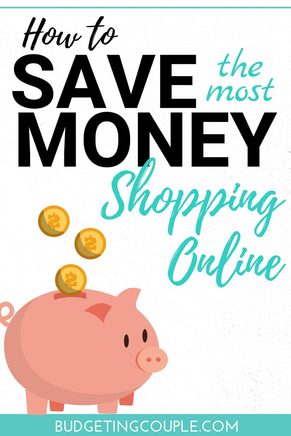 How To Save (the most) Money Shopping Online #startsavingmoney