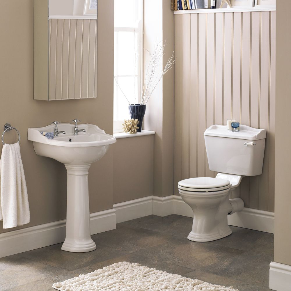 Monaco 4 Piece Traditional Bathroom Suite At Victorian Plumbing Uk Traditional Bathroom Suites Traditional Bathroom Bathroom Suite