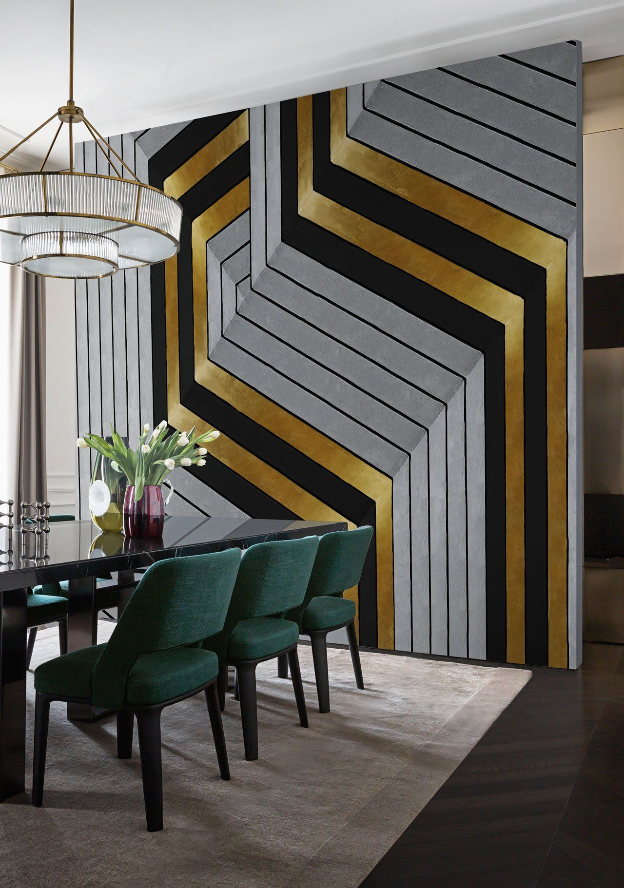 Modern Deco Christian Benini Unfolds The Secrets Of Wall Anddecò