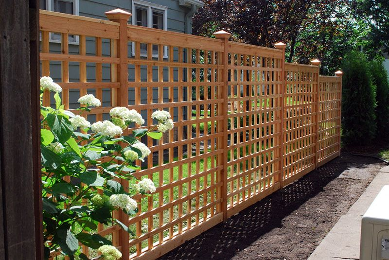 55 Lattice Fence Design Ideas Pictures Of Popular Types Patio