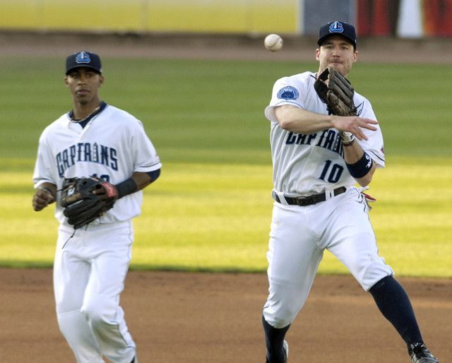 Cleveland Indians Third Baseman Jack Hannahan Rehabbed With The Lake County Captains In June Minor League Baseball Cleveland Indians Lake County