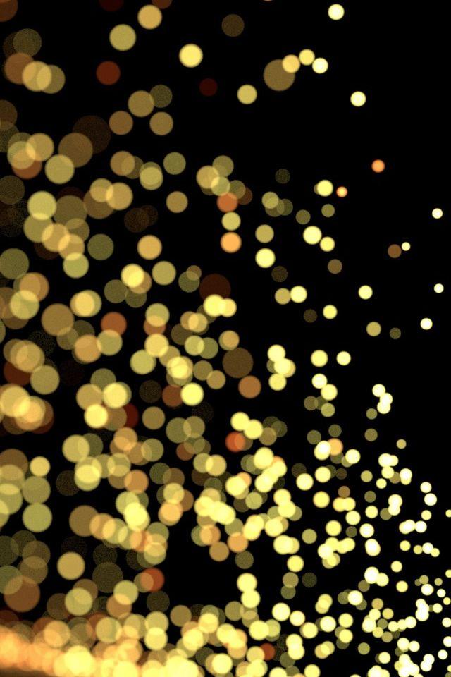 Blurry Sparks Iphone Wallpaper Gold Wallpaper Iphone Ipad Wallpaper Glitter Wallpaper