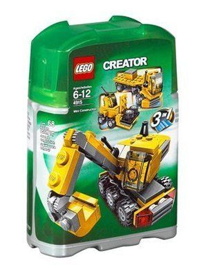 Lego Creator 4915 3 In 1 Mini Construction Set New And Sealed Lego Creator Lego Creator Sets Lego