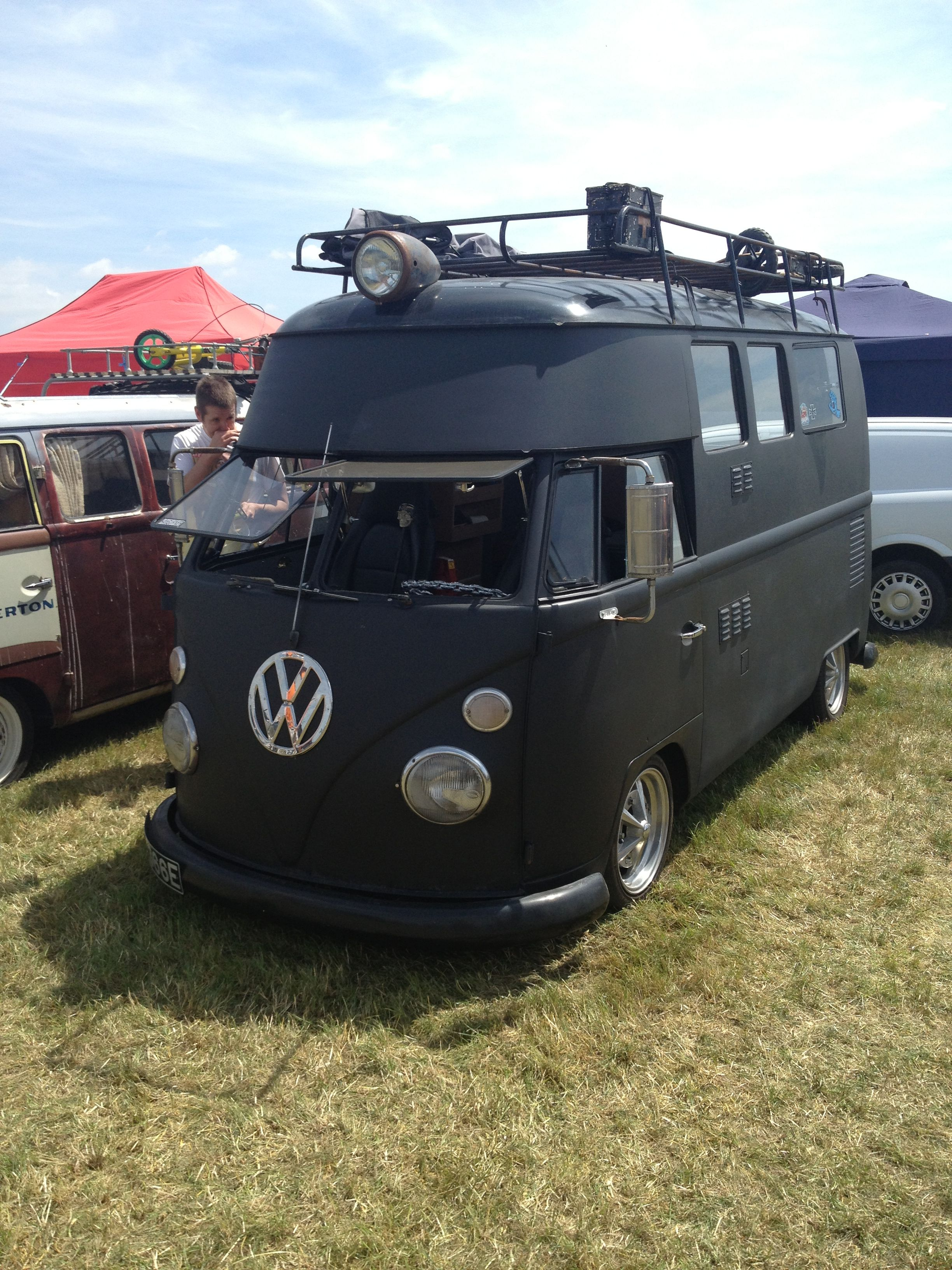 Really nice Custom Built Split Screen at Manningtree Car Show