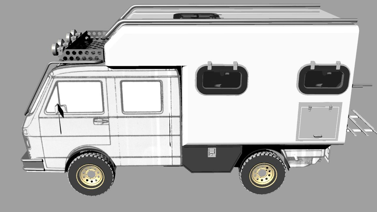 Plan cellule dynamis sur defender - Rrcab 4x4 Pickup Truck Isuzu D Max Double Cabin Campers Pinterest 4x4 And Camping