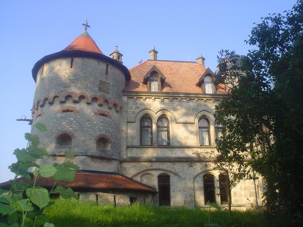 Castillo de Lichtenstein en Lichtenstein: Romántico