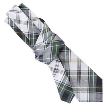 Merona® Men's Tie - Green/White Plaid