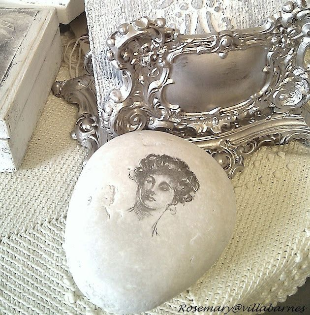 Painted rock paperweight! LOVE!