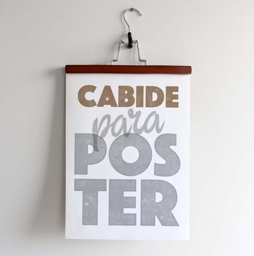 Cabide para Poster