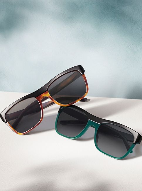 782b16c153f1 Burberry Brit sunglasses in tortoiseshell and British green - new for the  festival season