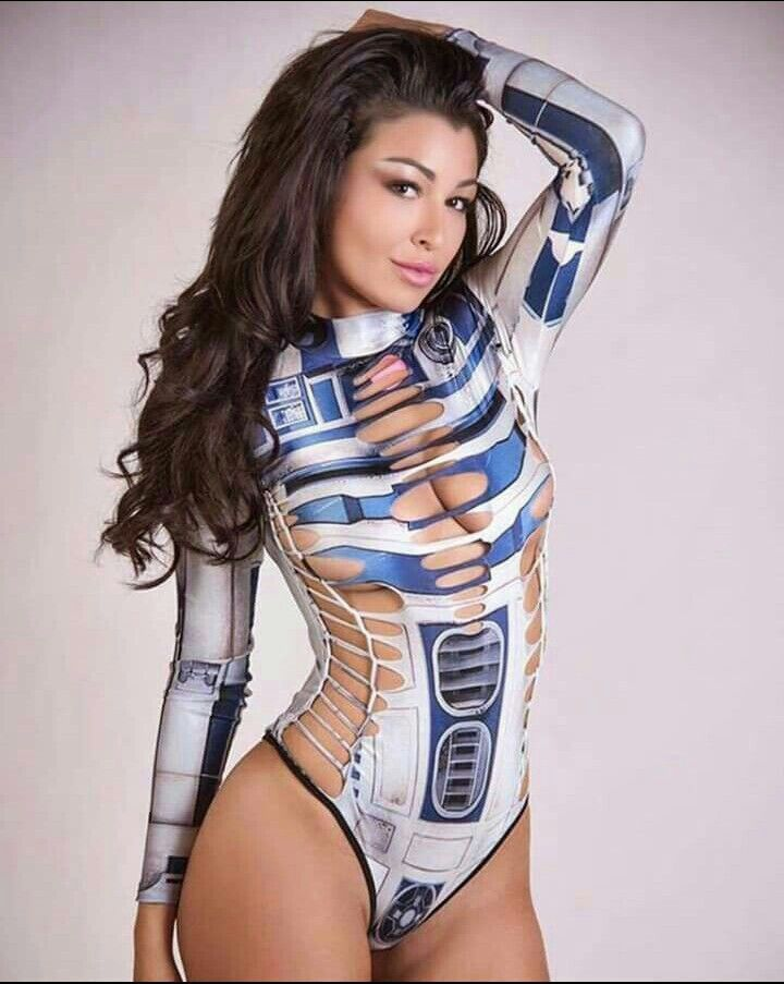 The hottest Star Wars Cosplays (Part I) - California Boobies
