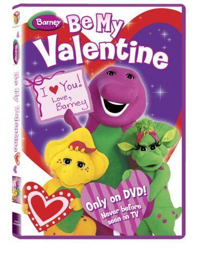 Barney Be My Valentine Dvd 7 79 Valentine S Day Pinterest